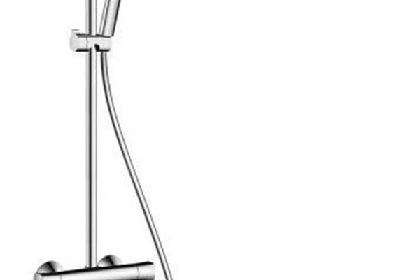 crometta 160 showerpipe termostato ducha visto ecostat universal hansgrohe cuerpos de ducha. Black Bedroom Furniture Sets. Home Design Ideas